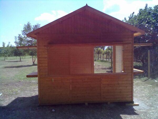 Chiosco in legno 3x2