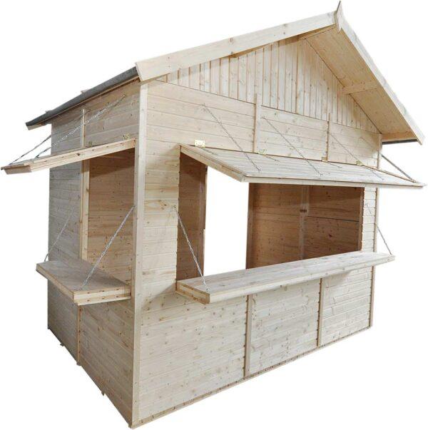 Chiosco in legno 3x2 chiaro