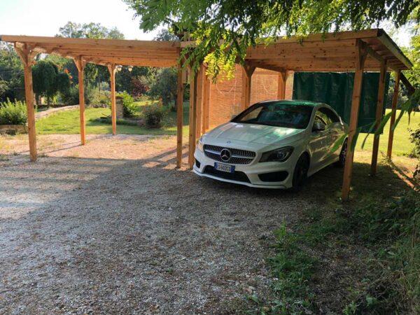 Carport in legno Vendita Casette