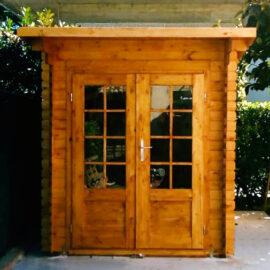 Casetta in legno Marche 2x3