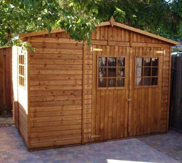 Casetta in legno Fano 3x3