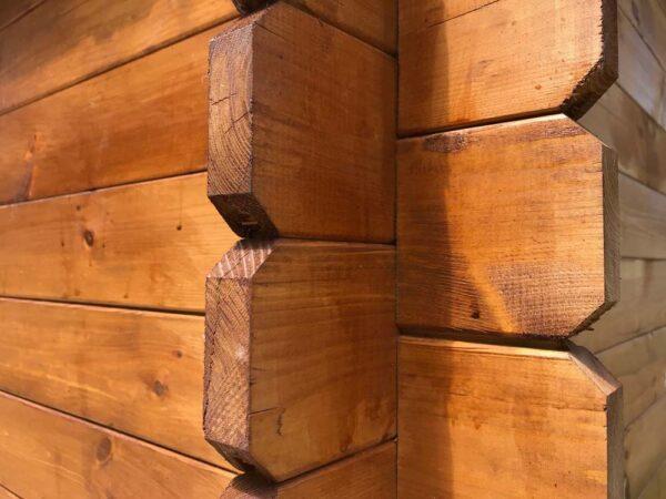 casetta in legno marche incastro