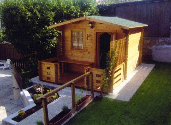 Casetta oin legno modello Liguria 3x2