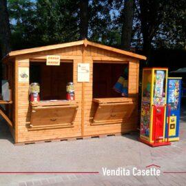 Chiosco in legno 3x3 a pannelli