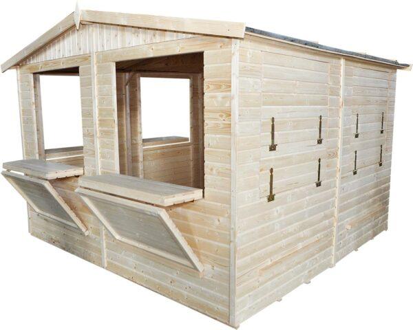 Chiosco in legno 3x3