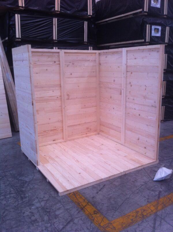 montaggio ripostiglio in legno modena