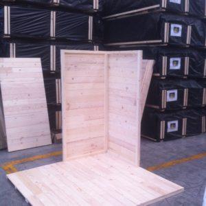 montaggio parete in legno modena