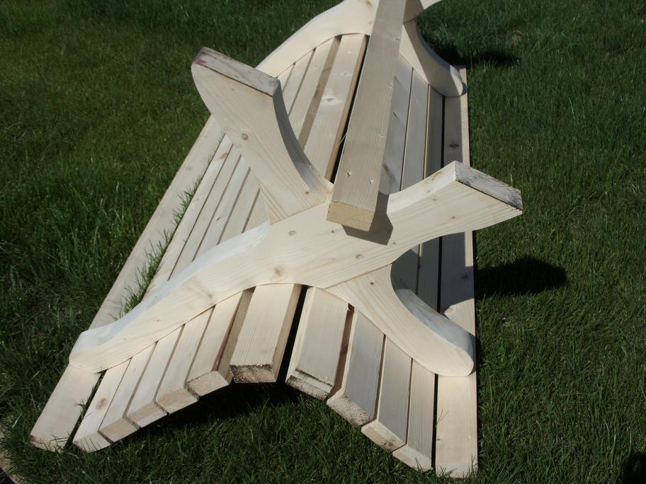 Panca in legno for Arredo per giardino in legno
