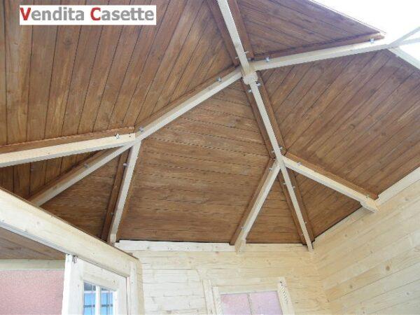 Casetta in legno mod. Abruzzo 3x3