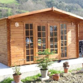 Casetta in legno mod. Basilicata 4x3