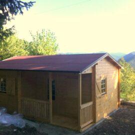 Casetta in legno mod. Bolzano eco