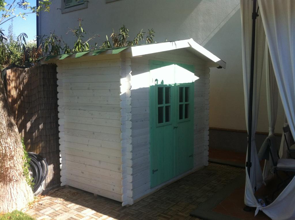 Casetta In Legno Giardino : Casetta in legno mod empoli m m
