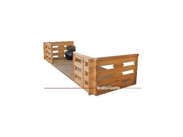 veranda per casette in legno