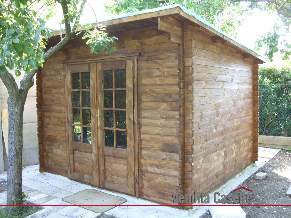 Casetta in legno mod marche 3 3 - Casette in legno per giardino ...