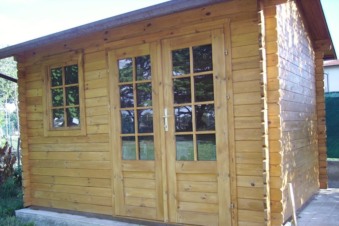 Casetta in legno mod udine for Casette legno economiche