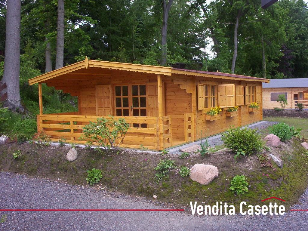 Casetta in legno mod toscana i for Bungalow in legno abitabili prezzi