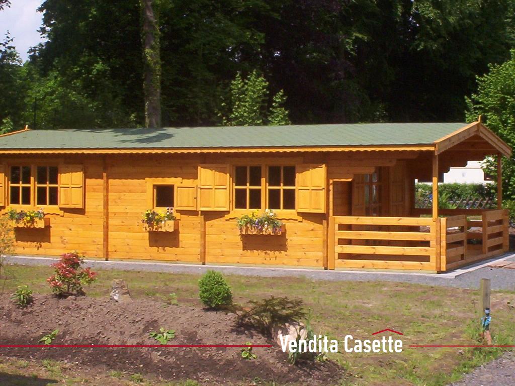 Casetta in legno mod toscana i for Casette in legno abitabili