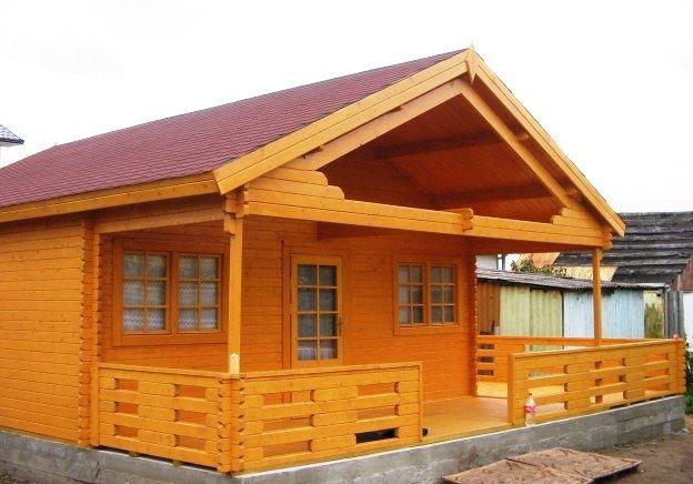Casetta in legno mod roma eco for Case semplici della casetta di legno