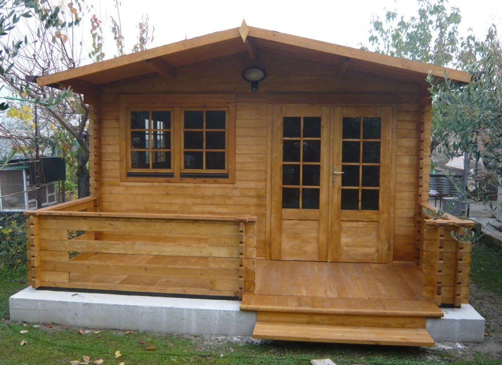 casetta in legno mod venezia 4x4