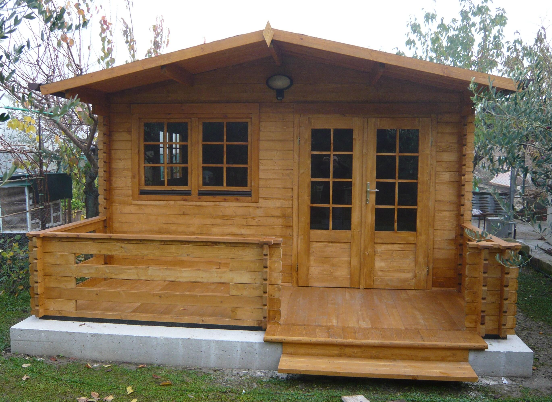 Casetta in legno mod venezia 4x4 - Costruire casa di legno ...