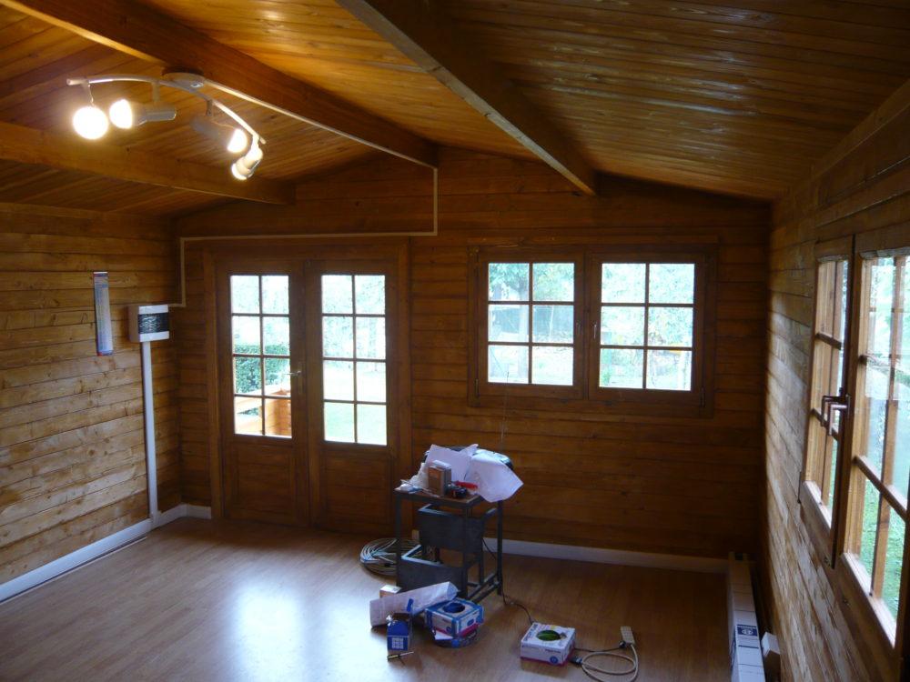Casetta in legno mod venezia 4x4 - Interni case in legno ...