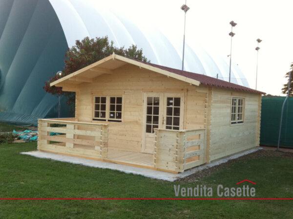 casette in legno modello Milano