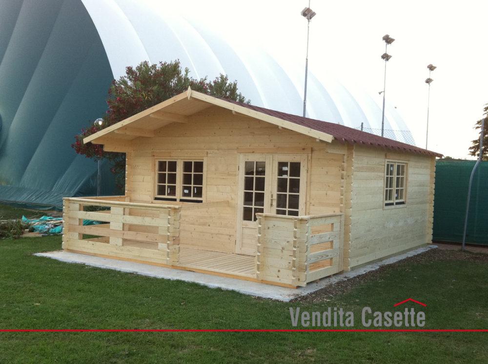 Casetta in legno mod milano 5x4 for Articoli da giardino milano