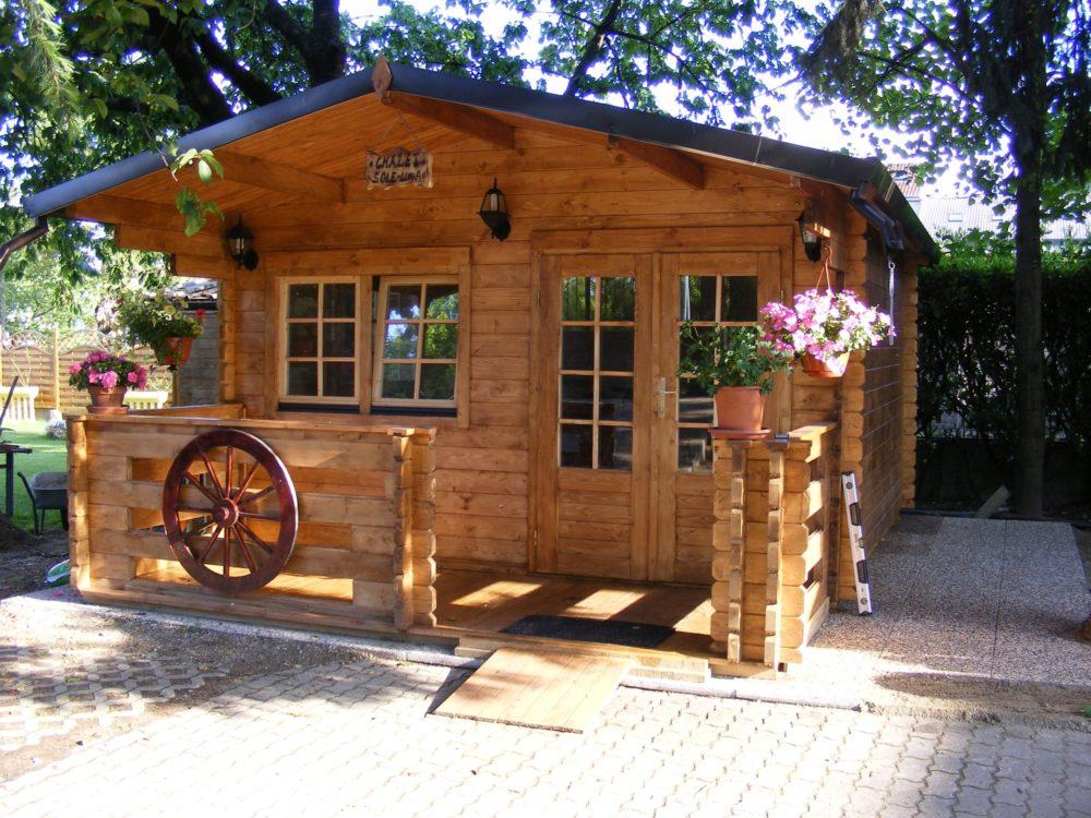 casetta in legno mod milano 5x5