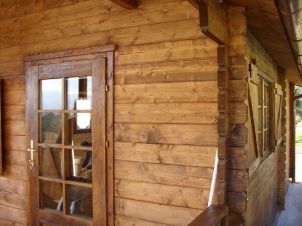 Casetta in legno mod. Torino eco