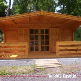 Casetta in legno mod. Piemonte