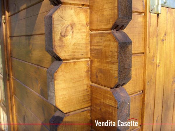 Casetta in legno mod. Piemonte particolare