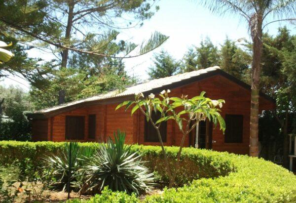 Casa in legno mod. Trentino eco