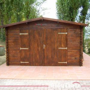 Garage in legno 4x6