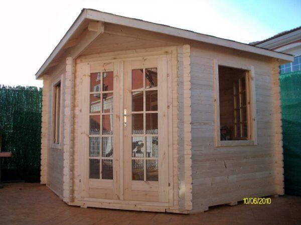 Casetta in legno modello Abruzzo 3x3