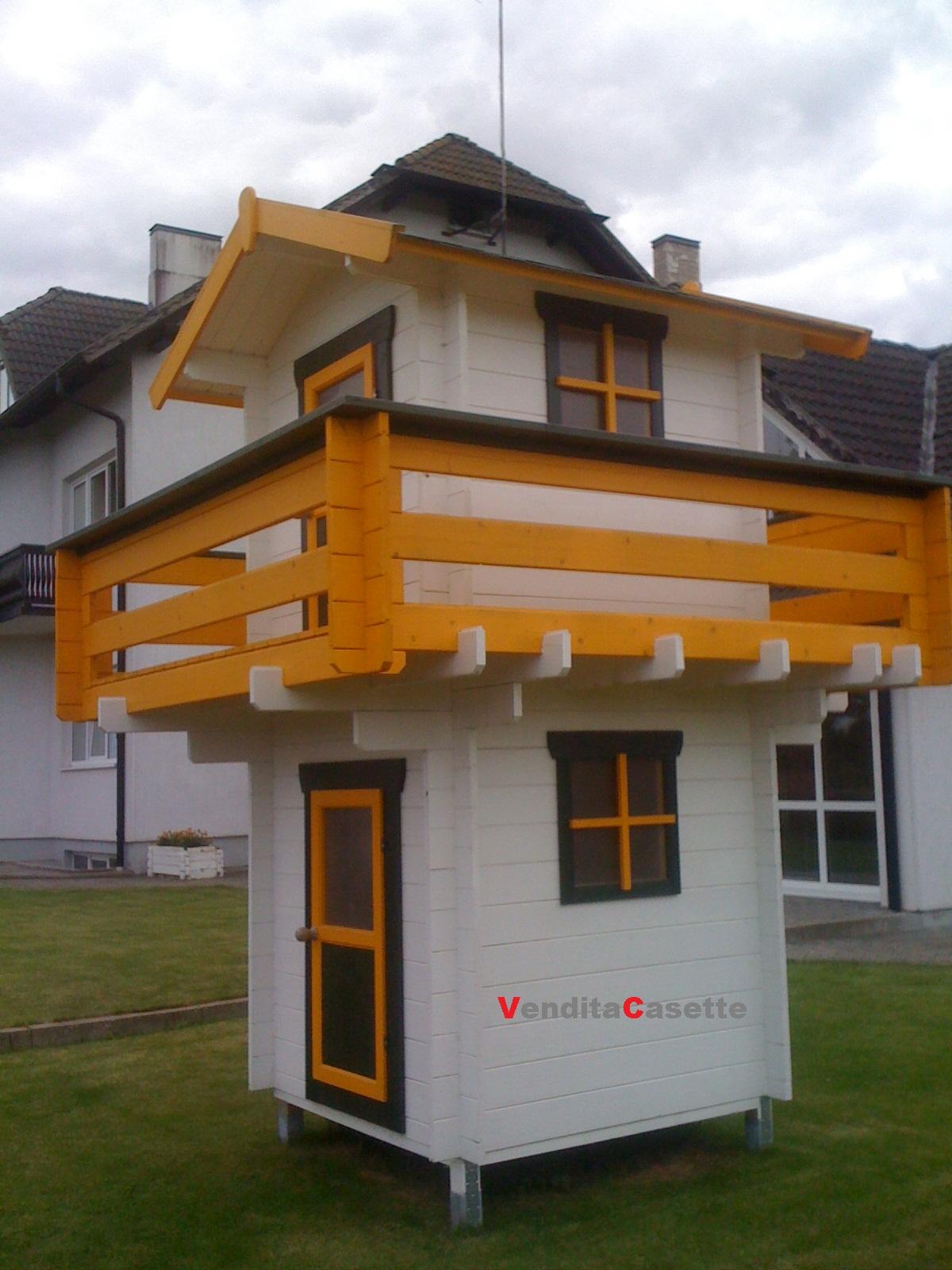 Casetta in legno mod pisa for Piani di case canadesi con scantinati ambulanti