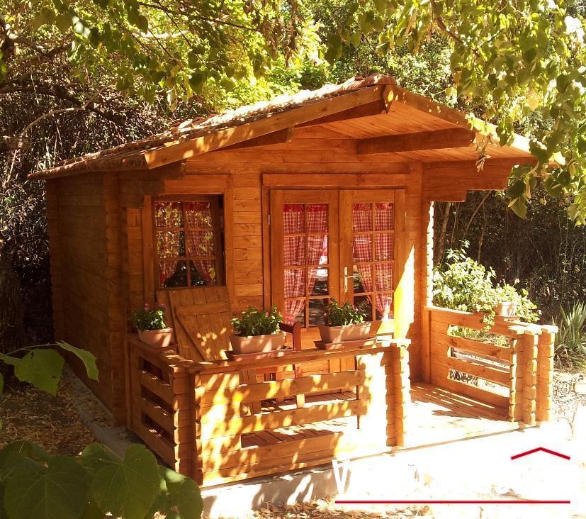 Casetta in legno mod venezia 3 3 for Costo casette di legno