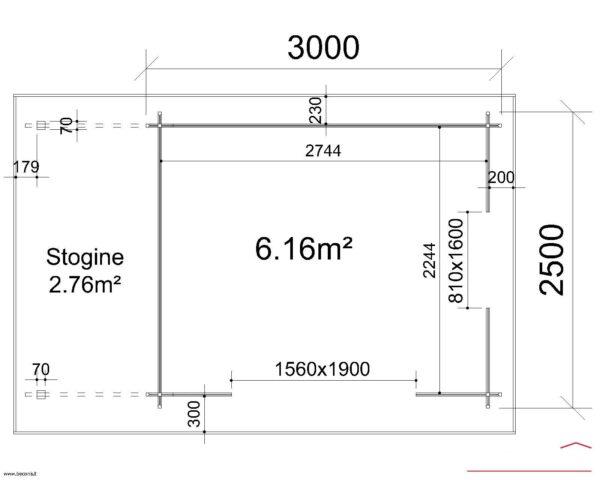 LOG 180 28mm - Palermo I