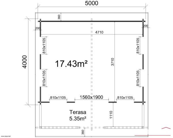 LOG 187 44mm - Verona3