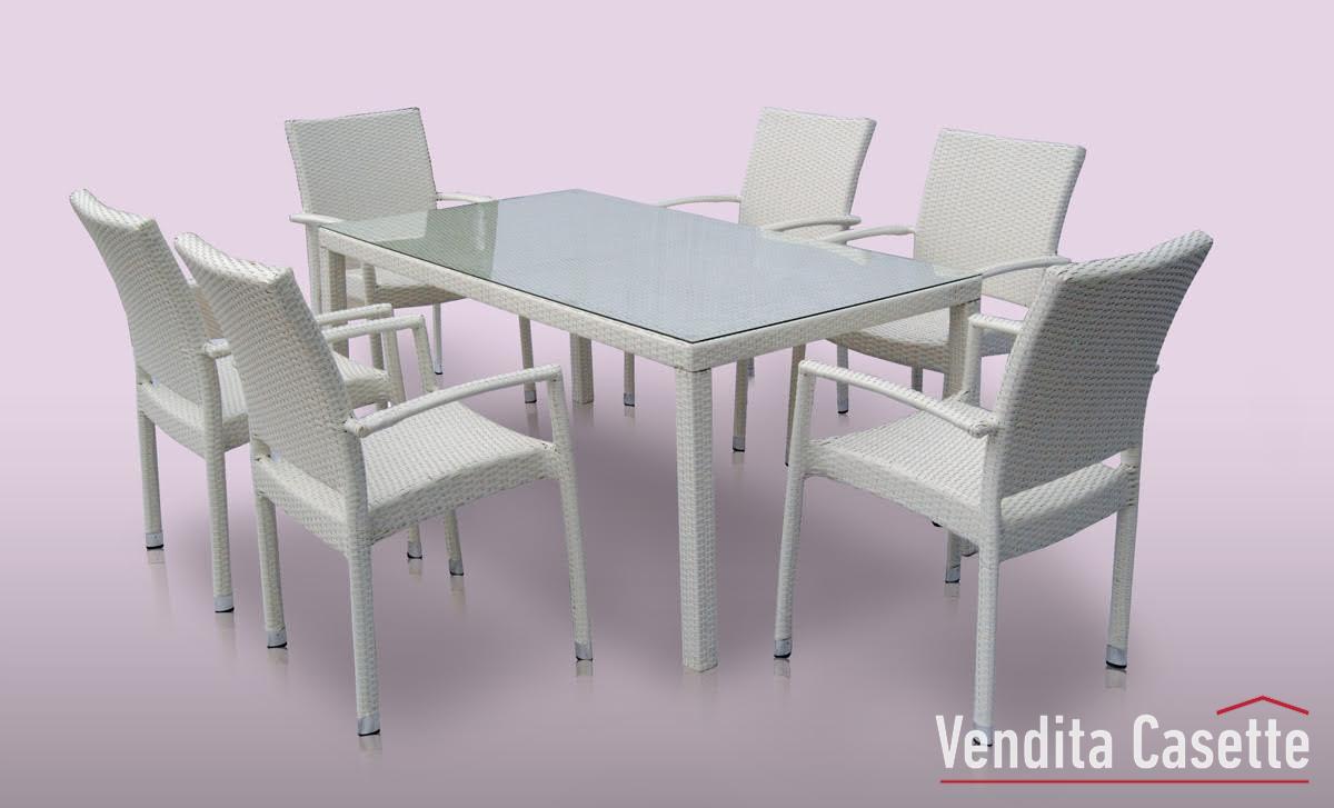 Set da pranzo ischia for Svendita sedie