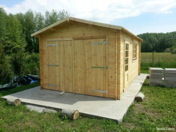 Garage in legno 3,20x5,20