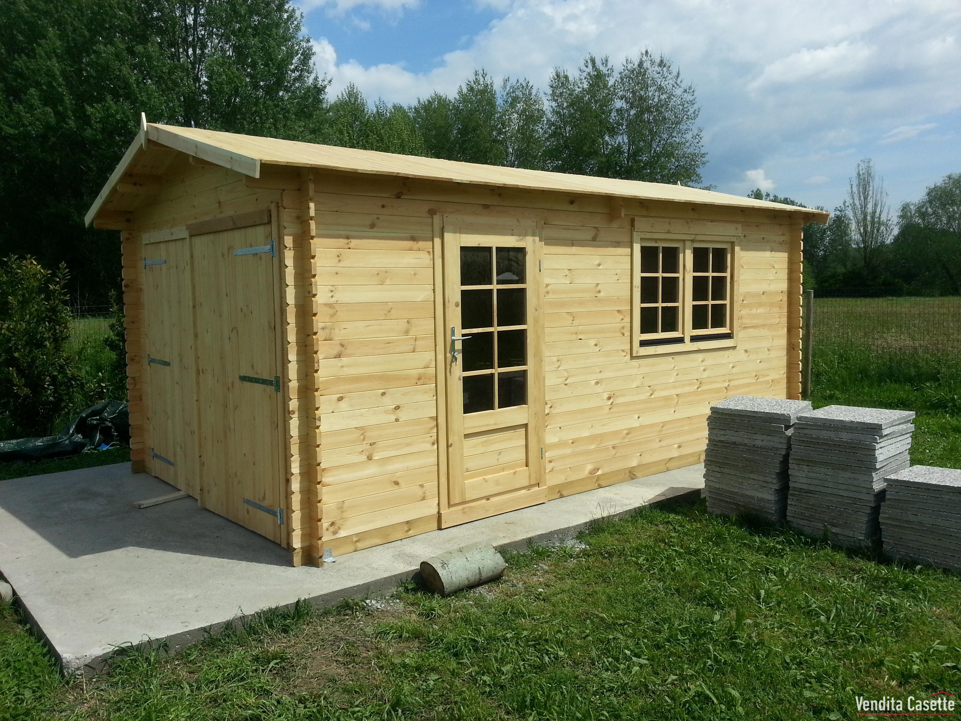 Garage in legno - Garage in legno ...