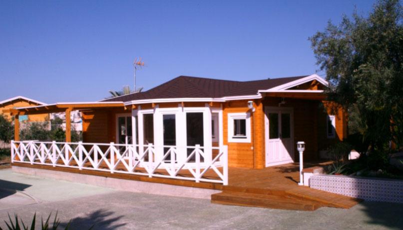 La casa in legno è personalizzabile