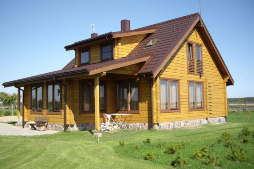 vivere in una casa di legno tutti i vantaggi