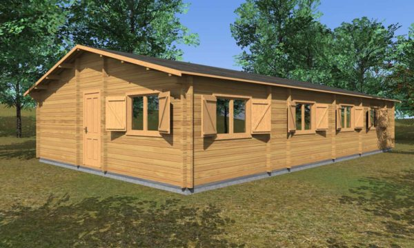 Casa in legno Campania