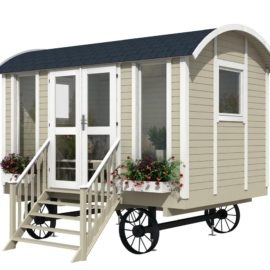 case mobili su ruote modello Trento