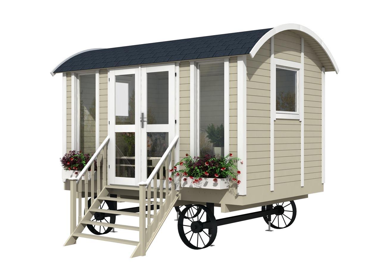 Casa mobile su ruote mod trento 3 6x2 4 for Casa mobile