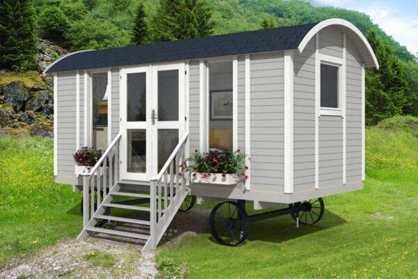 casa mobile su ruote modello Trento