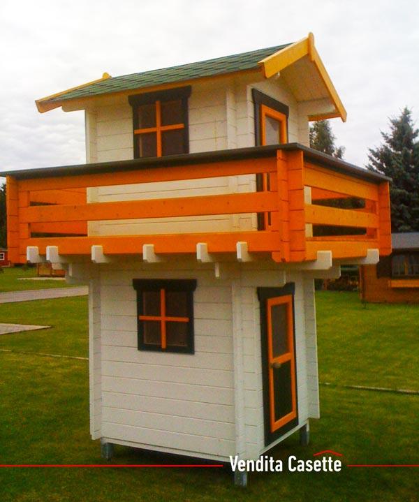 Casetta in legno per bambini modello Pisa