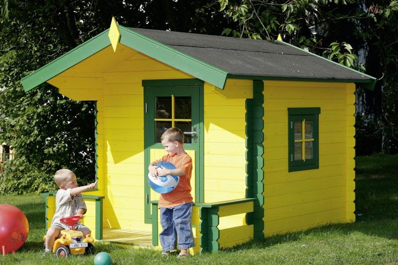 Casette in legno per bambini modello Cuneo