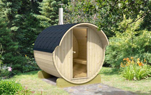 Sauna da esterno 220 per 4 persone